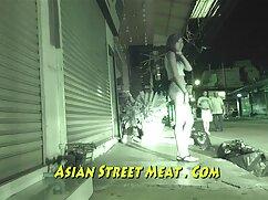 آسیایی, از خواب بیدار در مهبل (واژن) و پر سوراخ سکس خارجی دوبله مودار او با